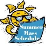 summer-mass-schedule